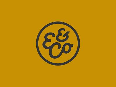Edward & Co Monogram logo monogram ed and co edward and co handtype vectormachine handlettering hashtaglettering lettering
