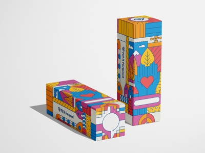 Fill it Forward - Always Giving Collection always giving illustration fill it forward packaging design packaging