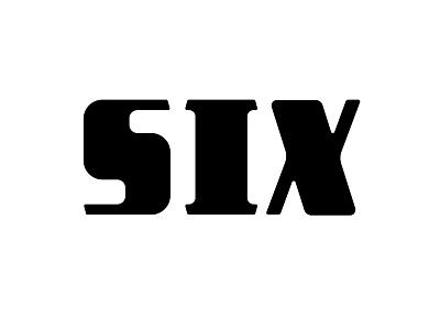Six handtype handlettering hashtaglettering lettering