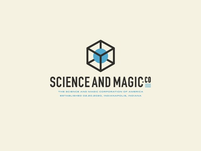 Science and Magic branding logo design