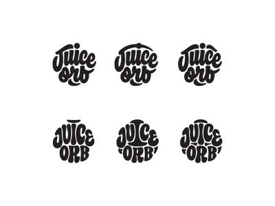 Juice Orb Process branding logo thevectormachine vector process handtype vectormachine handlettering hashtaglettering lettering