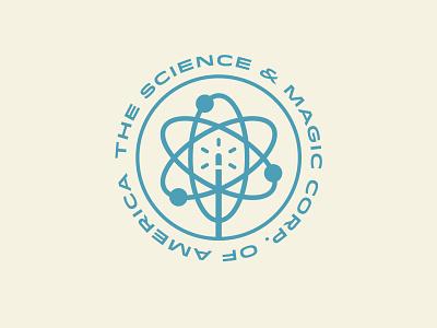 Unchosen Science & Magic branding design process logo