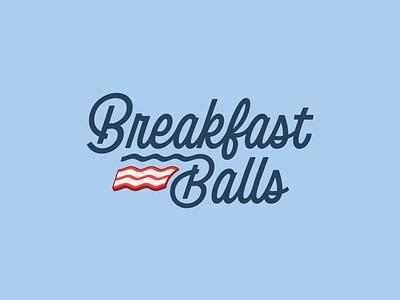 RSVLTS Breakfast Balls breakfast balls golf branding logo vector handtype vectormachine handlettering hashtaglettering lettering