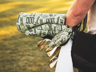 Golf Games Headcovers kevin the office cayce golf golf handtype vectormachine handlettering hashtaglettering lettering