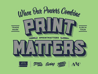 Print Matters Indianapolis printmatters lettering hashtaglettering mamassauce frenchpaper