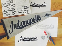 Indianapolis Pennant