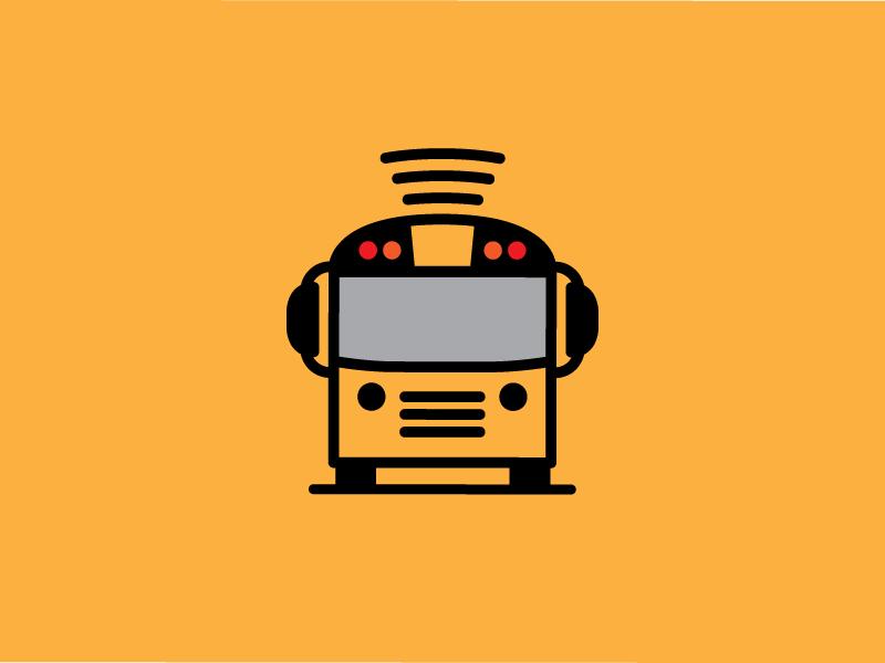 bus logo e3 by bob ewing dribbble dribbble