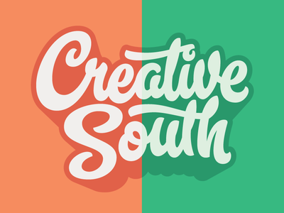 Creative South T-shirt Final lettering hashtaglettering process handlettering vector vectormachine creativesouth