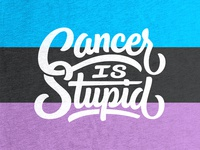 Cancer is Stupid T-shirt