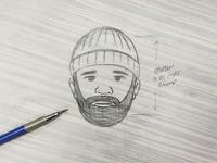 Lumberjack Nixon Sketch