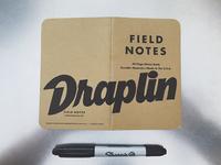 Field Notes Letters - Draplin