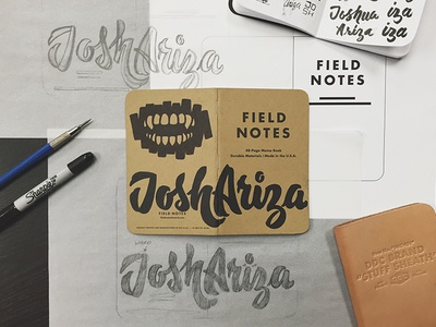 Field Notes Letters - Joshua Ariza