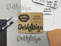 Field Notes Letters - Joshua Ariza