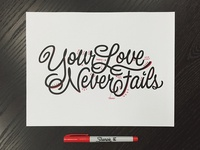 Your Love Never Fails - Analog Edits