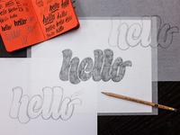 Hello - Final Sketch