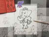 Elephant3 - Final Sketch