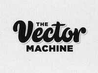 The Vector Machine - Lettering