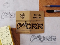 Field Notes Letters - Clark Orr