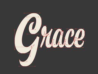 Grace Bézier Curves memphis inchxinch process grace hashtaglettering handlettering lettering