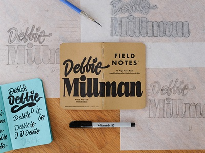 Field Notes Letters - Debbie Millman