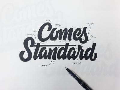 Comes Standard Markup