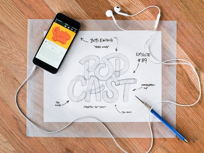 Creative South Podcast process podcast creativesouthpodcast creativesouth hashtaglettering handlettering lettering