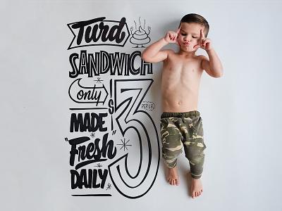 Nixon Grows Up - 3 years family nixongrowsup nixon sharpie signpainter hashtaglettering handlettering lettering