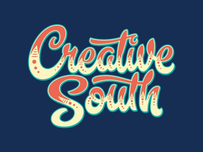 2018 Creative South circus hashtaglettering handlettering lettering hugnecks creativesouth