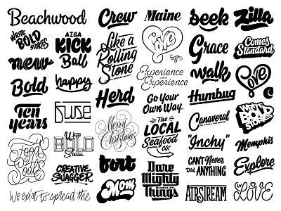 2017 Letterings hashtaglettering handlettering lettering
