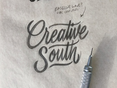 Creative South 2018 hashtaglettering lettering creative south