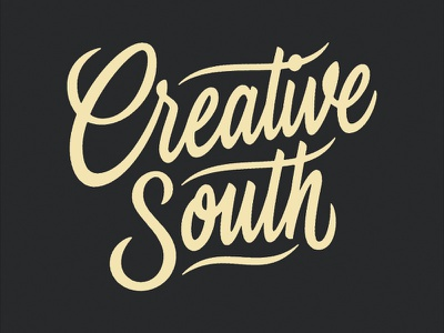 Creative South 2018 T-shirt hashtaglettering lettering creative south
