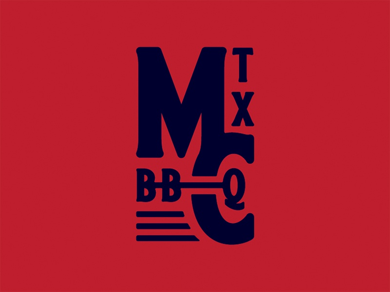 Meat Church Monogram Concept branding texas bbq traeger grills meat church logo monogram
