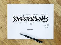 MiamiblueM3 Markup