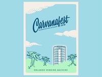 Carvanafest Poster
