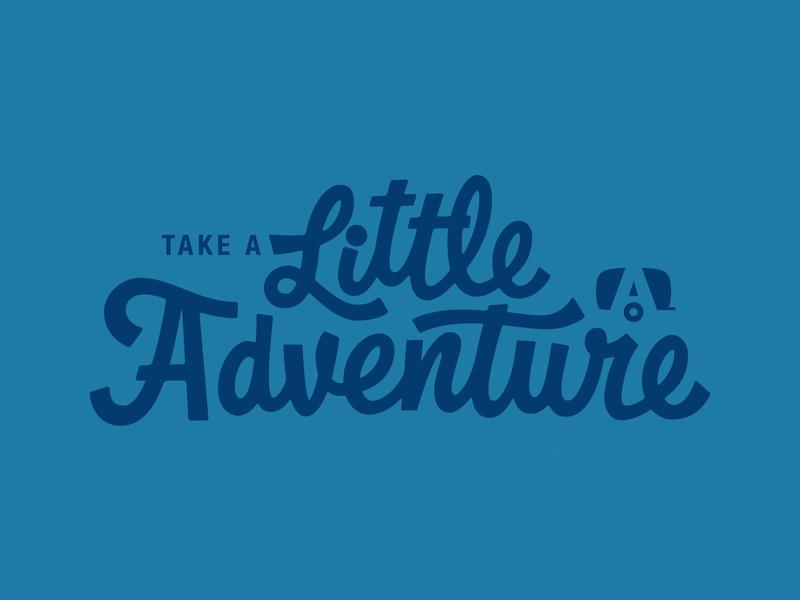 Little Adventure Logo airstream elementthree thevectormachine vectormachine handlettering hashtaglettering lettering