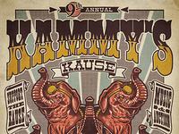 2012 Kammy's Kause Final Flyer