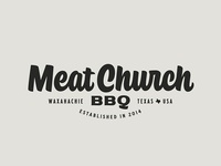 Meat Church Logo badge