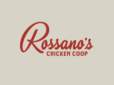 "Rossano""s Script logo handtype vector thevectormachine process vectormachine handlettering hashtaglettering lettering"