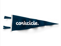 Corkcicle Script Swag