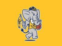 Pacers Elephant