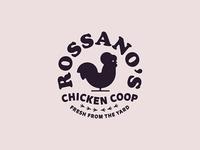 """Rossano""""s Chicken Coop Badge - 2"""