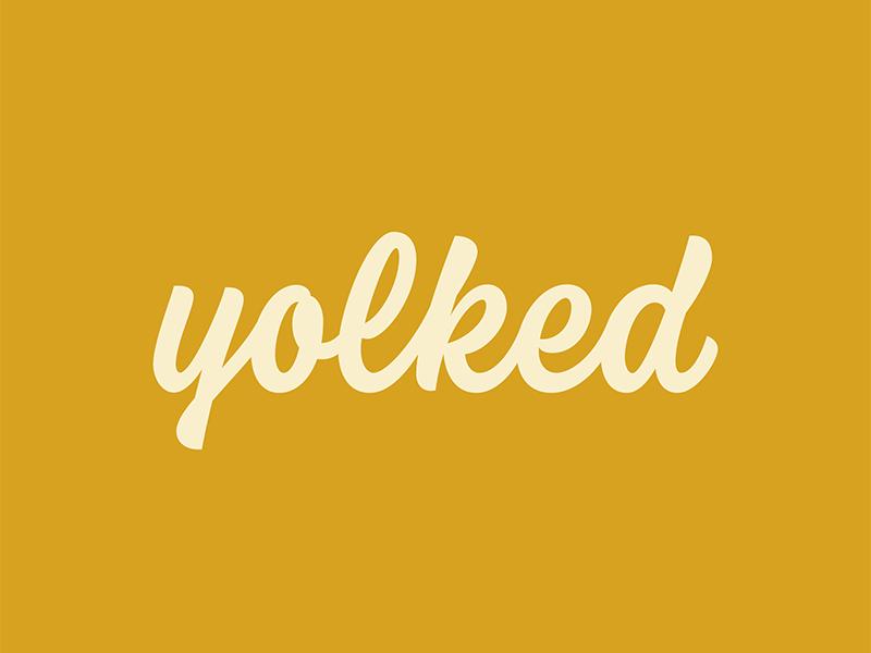 Yolked thevectormachine vector handtype process vectormachine handlettering hashtaglettering lettering
