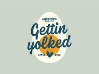 Gettin Yolked