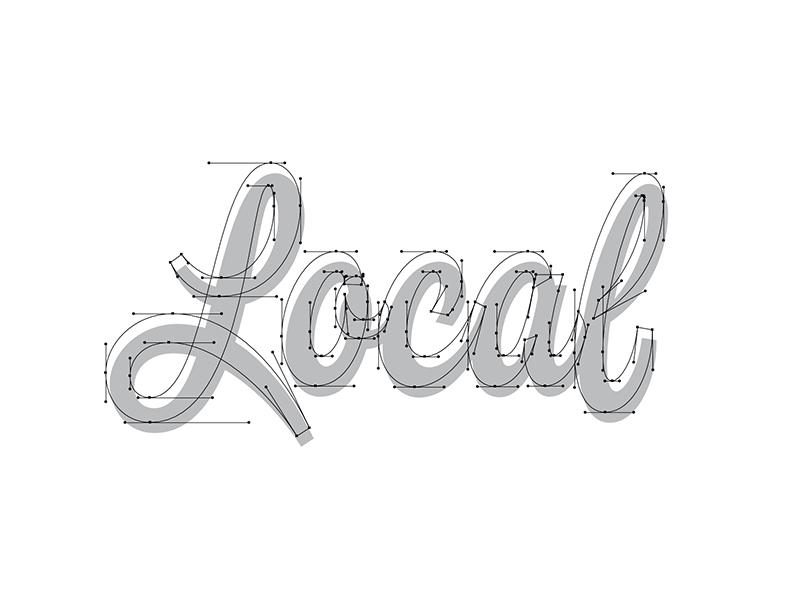 Local Beziers thevectormachine vector handtype process vectormachine handlettering hashtaglettering lettering