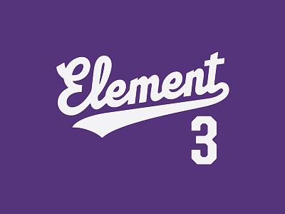 Element 3 Script e3ers elementthree thevectormachine vector handtype vectormachine handlettering hashtaglettering lettering