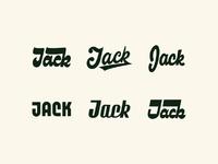 Jack letterings dribbble
