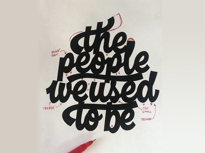 The People We Used To Be - MARKUP