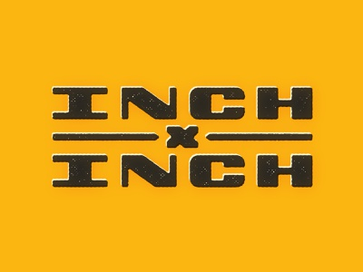 INCHxINCH Letters inchxinch inch x inch thevectormachine vector handtype process vectormachine handlettering hashtaglettering lettering