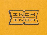 INCHxINCH X Badge