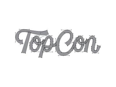 TopCon Beziers topcon thevectormachine vector handtype process vectormachine handlettering hashtaglettering lettering
